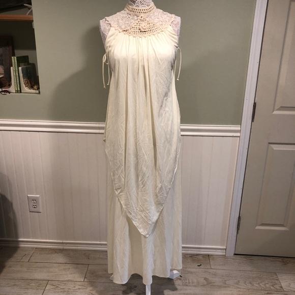 Vintage Boho Prom Dress Circa 1970s   Poshmark